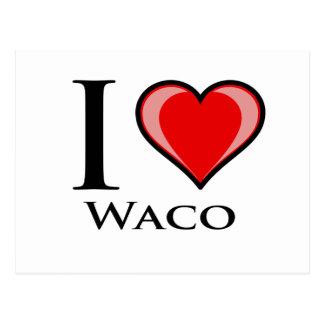 Amo Waco Postales