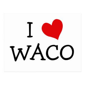 Amo Waco Tarjetas Postales