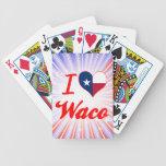 Amo Waco, Tejas Barajas De Cartas