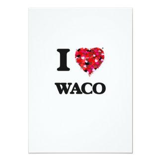 """Amo Waco Tejas Invitación 5"""" X 7"""""""