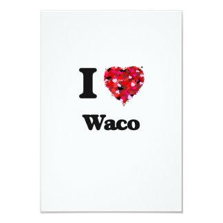 """Amo Waco Tejas Invitación 3.5"""" X 5"""""""