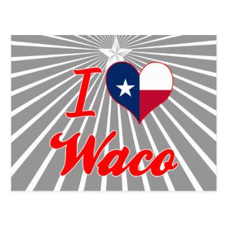 Amo Waco, Tejas Postales