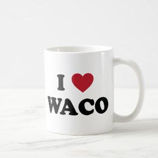Amo Waco Tejas Taza Básica Blanca