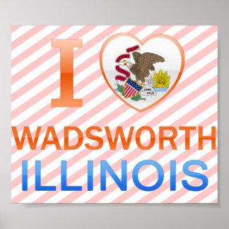 Amo Wadsworth, IL Póster