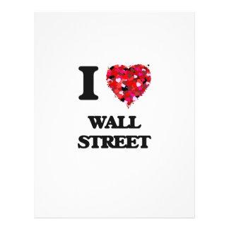 "Amo Wall Street Folleto 8.5"" X 11"""