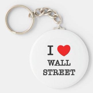 Amo Wall Street Llavero Personalizado