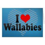 Amo Wallabies Felicitaciones