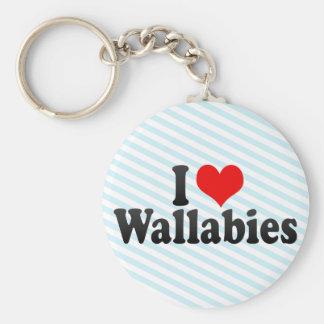 Amo Wallabies Llaveros Personalizados