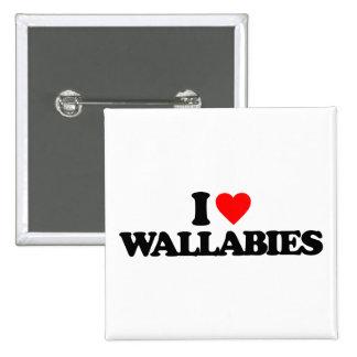 AMO WALLABIES PIN