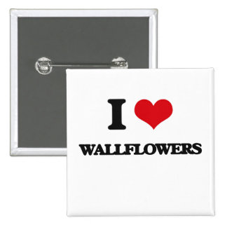 Amo Wallflowers Chapa Cuadrada 5 Cm
