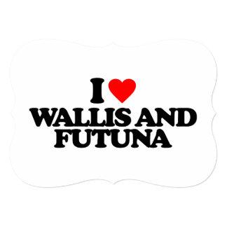 """AMO WALLIS Y FUTUNA INVITACIÓN 5"""" X 7"""""""