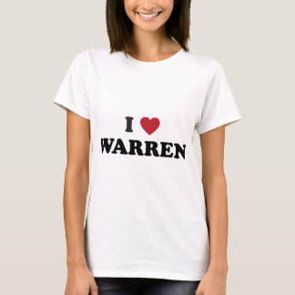 Amo Warren Michigan Playera