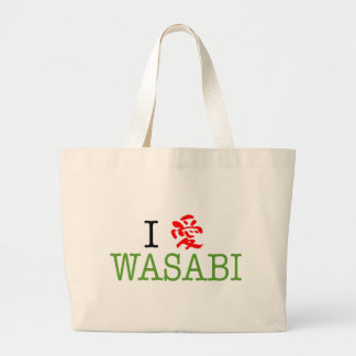 Amo Wasabi Bolsa Tela Grande