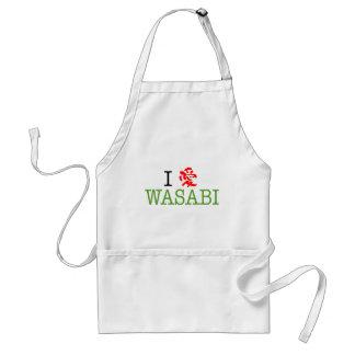 Amo Wasabi Delantal