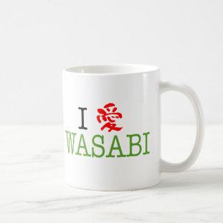 Amo Wasabi Taza Clásica