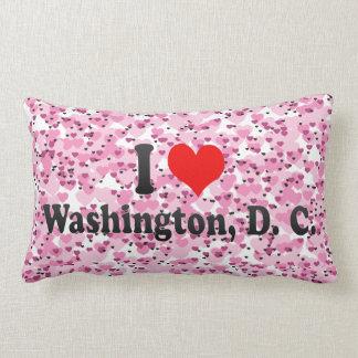 Amo Washington, C.C., Estados Unidos Cojín