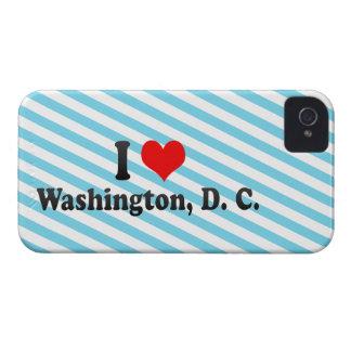 Amo Washington, C.C., Estados Unidos iPhone 4 Cárcasa