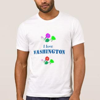 Amo WASHINGTON D C América los E.E.U.U. Playera