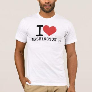 Amo Washington DC Playera