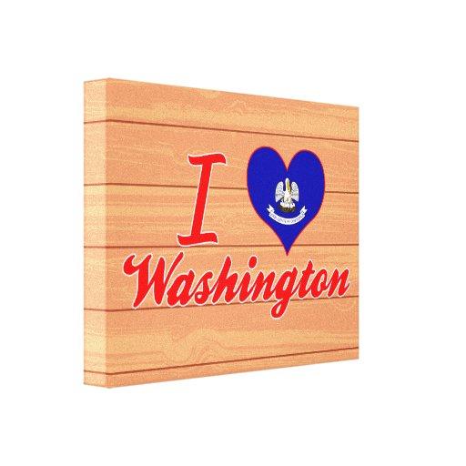 Amo Washington, Luisiana Impresiones De Lienzo