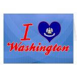 Amo Washington, Luisiana Tarjeton