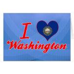 Amo Washington, New Hampshire Tarjeta