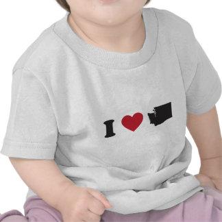 Amo Washington Camisetas