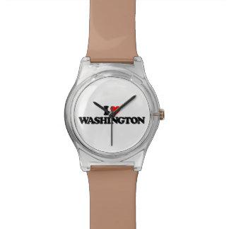 AMO WASHINGTON RELOJES DE PULSERA