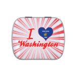Amo Washington, Wisconsin Frascos De Caramelos