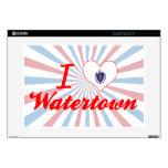 Amo Watertown, Massachusetts 38,1cm Portátil Calcomanía