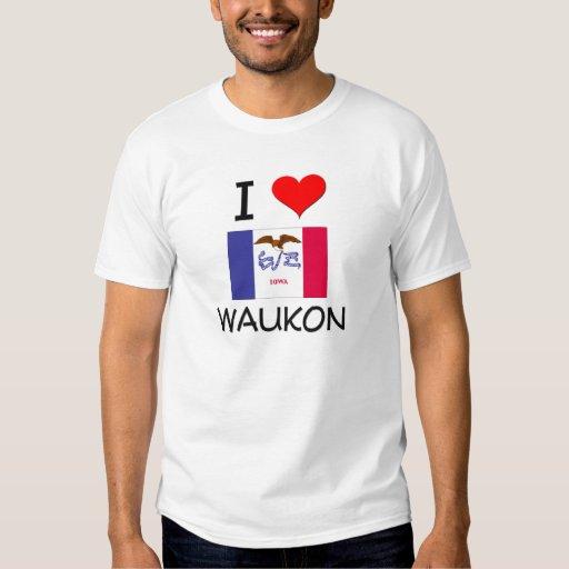 Amo WAUKON Iowa Camisas
