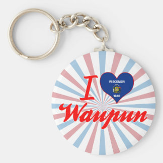 Amo Waupun, Wisconsin Llavero