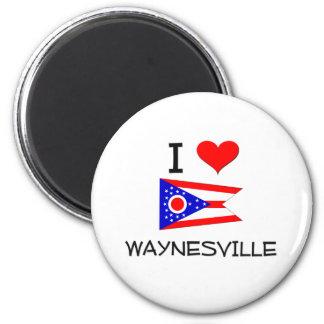 Amo Waynesville Ohio Imán Redondo 5 Cm