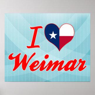 Amo Weimar, Tejas Poster