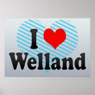 Amo Welland Canadá Poster