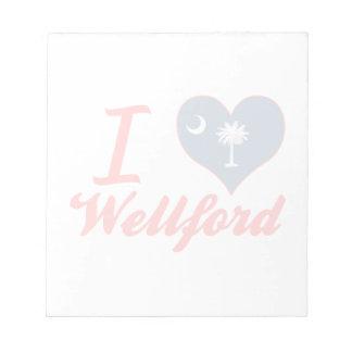 Amo Wellford, Carolina del Sur Blocs De Notas