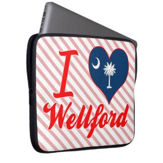 Amo Wellford, Carolina del Sur Fundas Computadoras