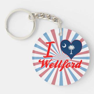 Amo Wellford, Carolina del Sur Llavero