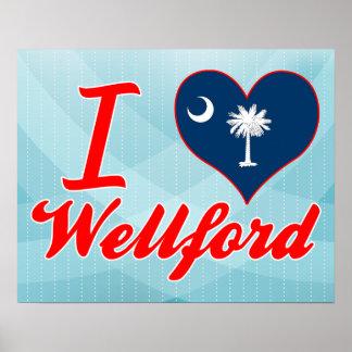 Amo Wellford, Carolina del Sur Poster