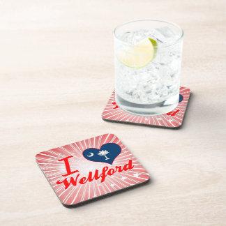 Amo Wellford, Carolina del Sur Posavasos De Bebida