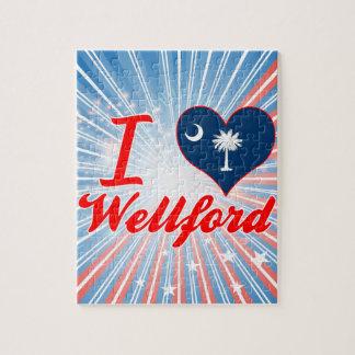 Amo Wellford, Carolina del Sur Puzzle Con Fotos