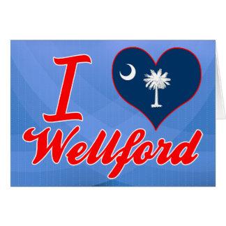Amo Wellford, Carolina del Sur Tarjeton