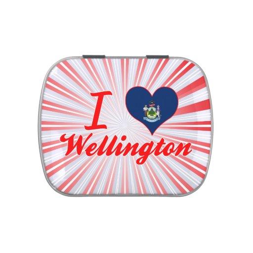 Amo Wellington, Maine Frascos De Dulces