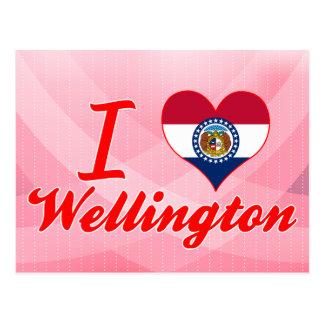 Amo Wellington, Missouri Tarjetas Postales
