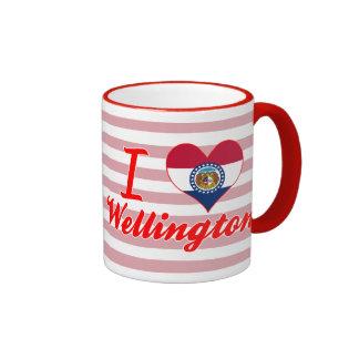Amo Wellington, Missouri Taza A Dos Colores