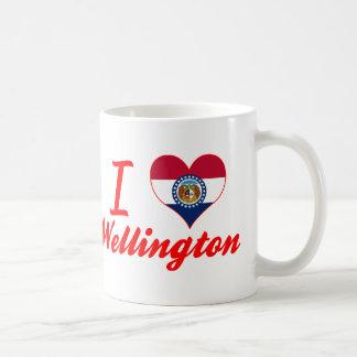 Amo Wellington, Missouri Taza Básica Blanca