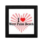 Amo West Palm Beach, Estados Unidos Caja De Regalo