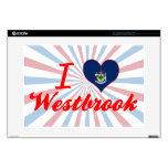 Amo Westbrook, Maine Portátil Calcomanías