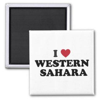Amo Western Sahara Imán De Frigorífico