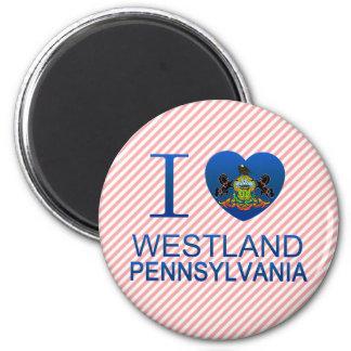 Amo Westland, PA Imán De Nevera